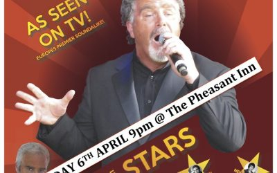 Sound of the Stars at The Pheasant Inn, Dunstable on Saturday 6 April at 9:00pm